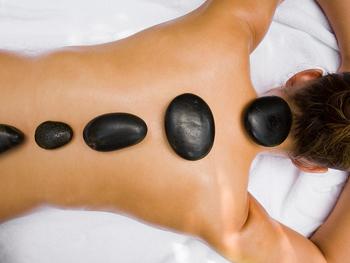 doce massagens conas quentes