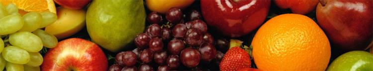 frutas da dieta