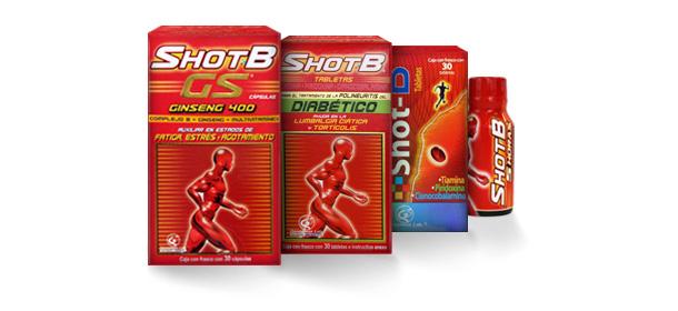 shot b suplemento