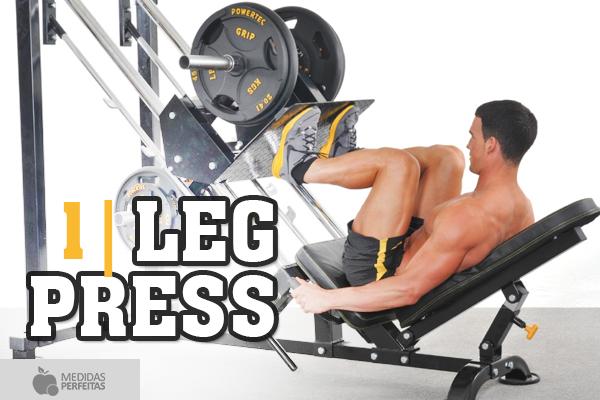 Leg Press: aprenda tudo sobre esse exercício! (Foto: Divulgação)