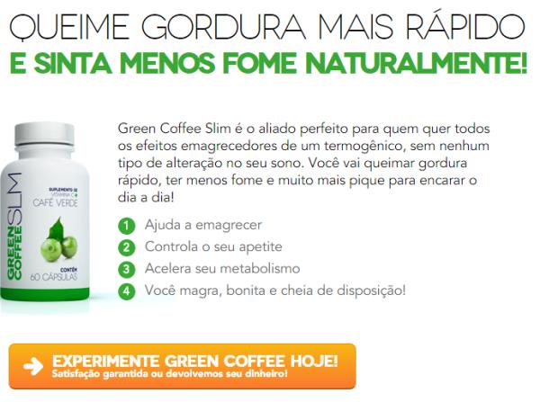 green coffee slim preço
