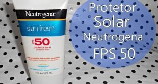 Neutrogena protetor solar