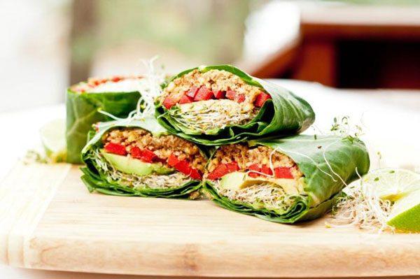 Almoço Low Carb vegano