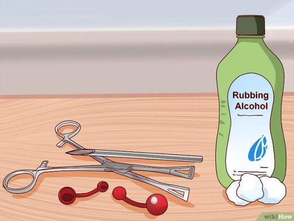 piercing limpo e seco
