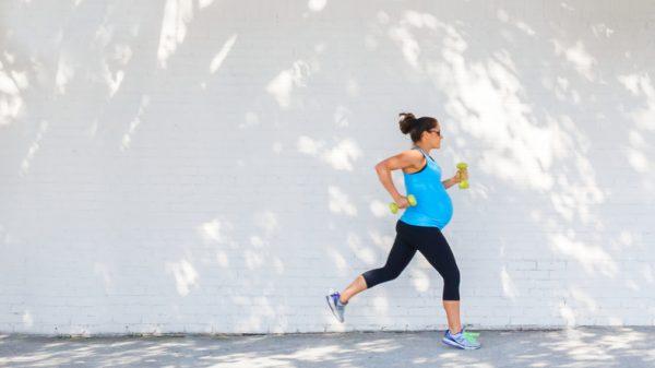 correr durante a gravidez