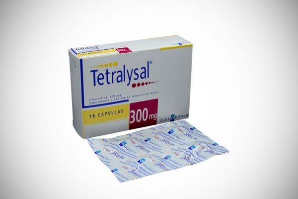 Antibiótico Acne Tetralysal