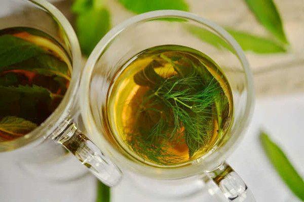 chá para gases
